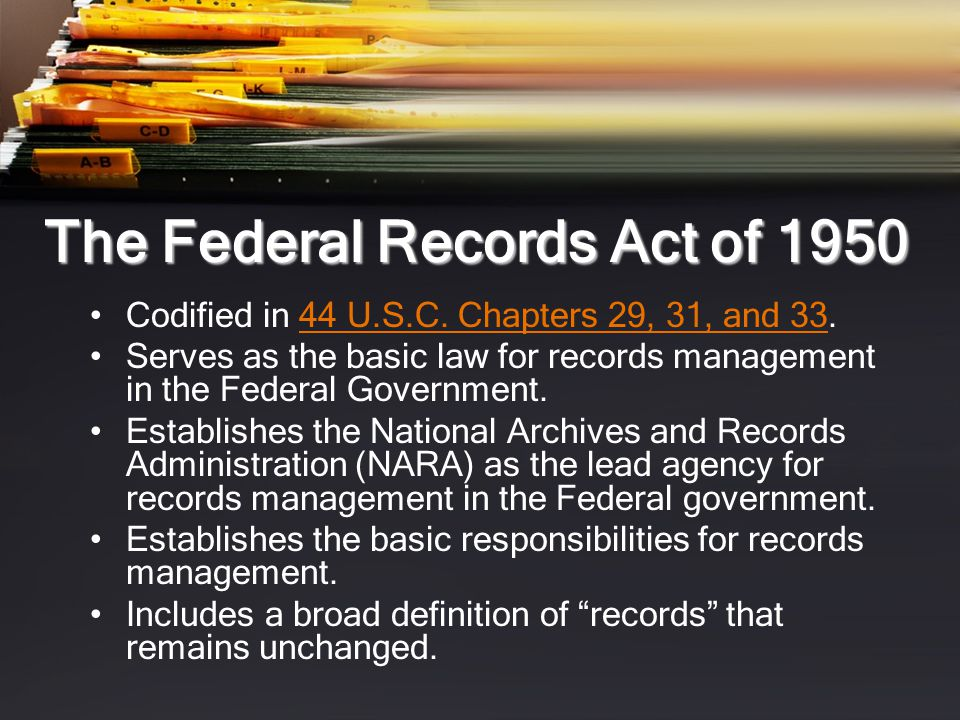 Identifying Personal Papers Do not relate to or have any effect upon the conduct of agency business - owned by an individual.