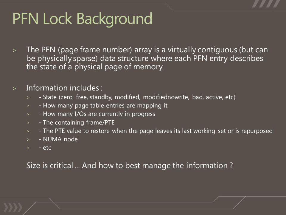 PFN Lock Background