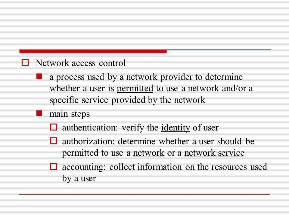 The home domain may send information regarding the users service profile to the visited domain to help the visited domain to determine how to provide services to the user, for example, the users QoS requirements