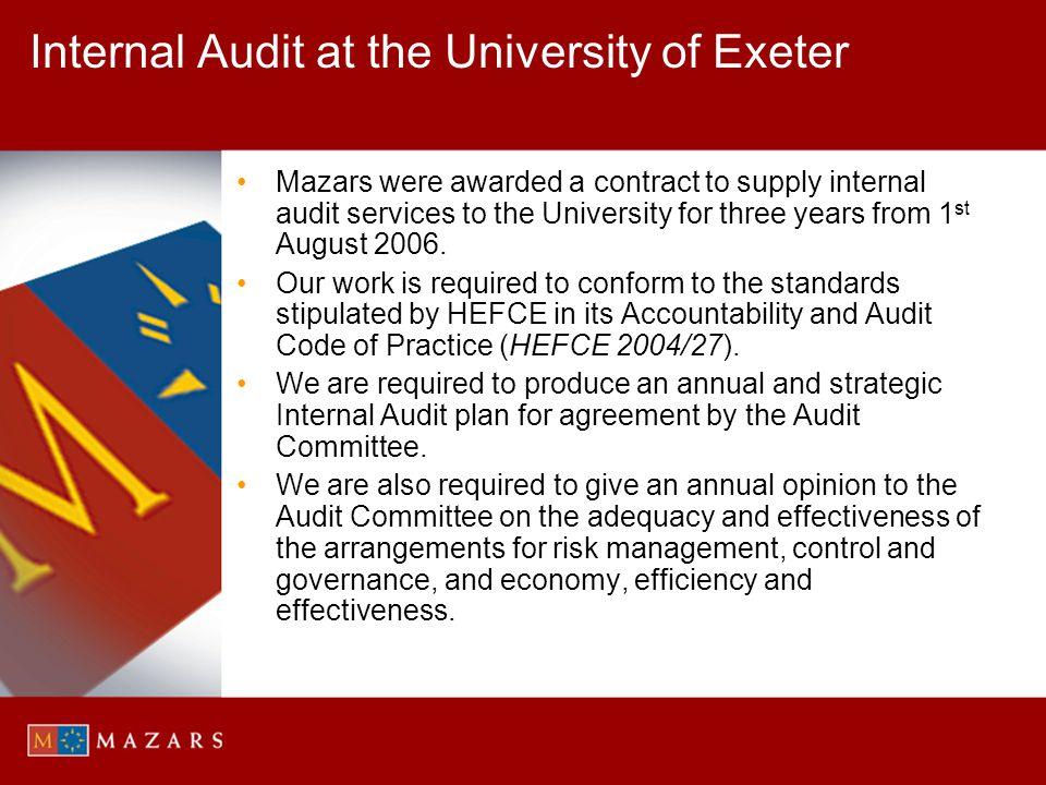 Your Core Internal Audit Team PartnerRichard Bott richard.bott@mazars.co.uk 0117 973 4481 ManagerJamie Paddon jamie.paddon@mazars.co.uk jamie.paddon@mazars.co.uk 0117 317 1568 or 077940 31141 SupervisorIain Rolland iain.rolland@mazars.co.uk 0117 317 1544 or 077400 84771 Senior AuditorsRachael Lovett / Victor Rudebeck / Ian Cook Junior AuditorsJemma Allan / Laura Baxter / Sarah Brent