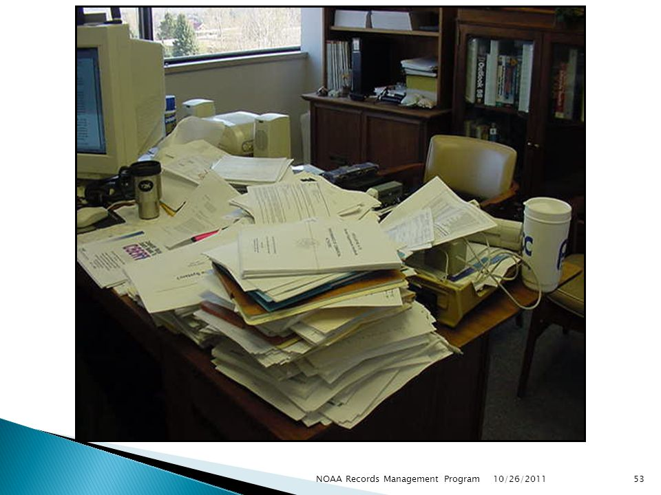 10/26/2011 53NOAA Records Management Program