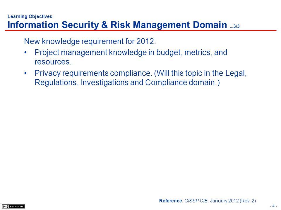 - 75 - Risk Management Risk Assessment Methods: Quantitative vs.