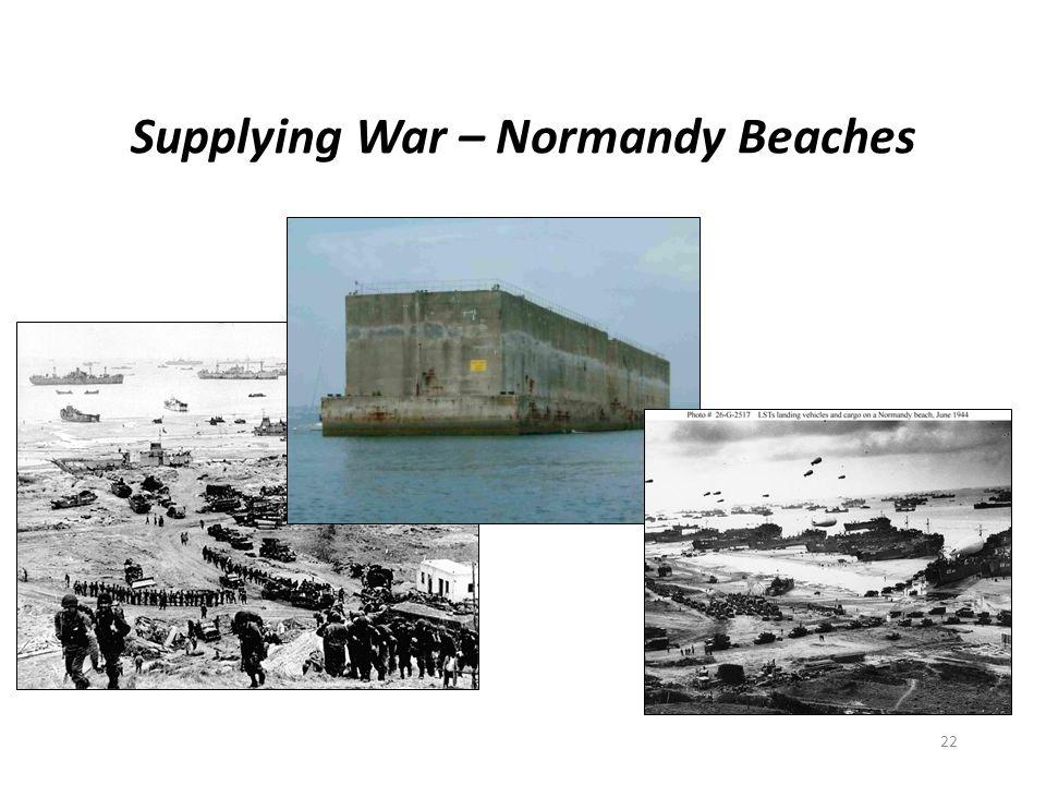 Supplying War – Normandy Beaches 22
