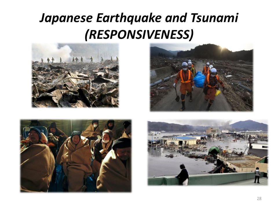 Japanese Earthquake and Tsunami (RESPONSIVENESS) 28