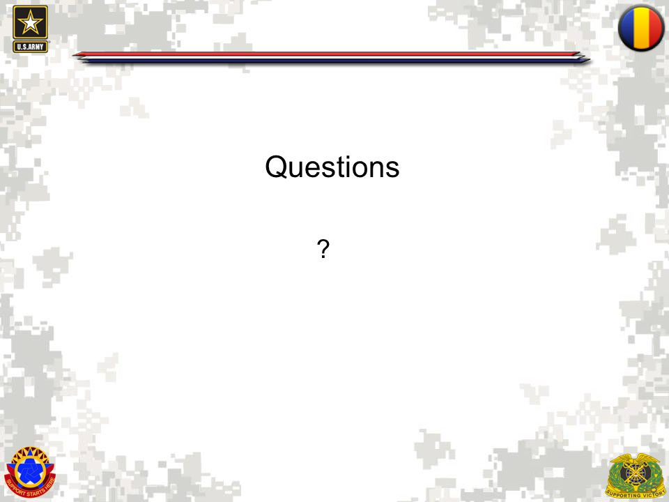 15 Questions ?