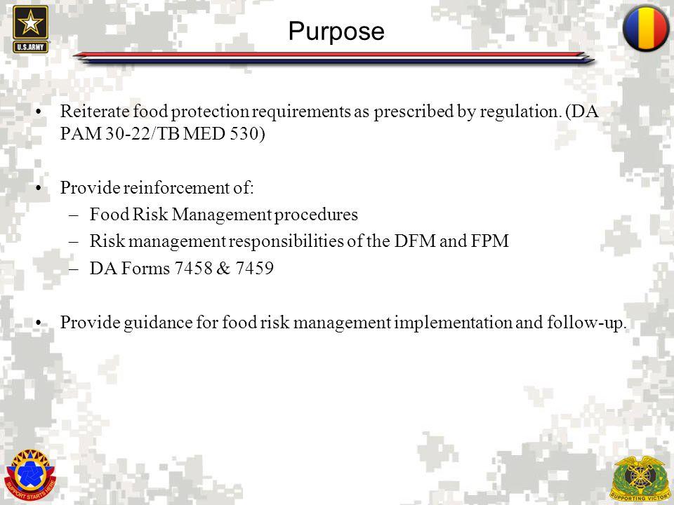 3 Introduction Proactive development & execution of food safety & sanitation procedures.