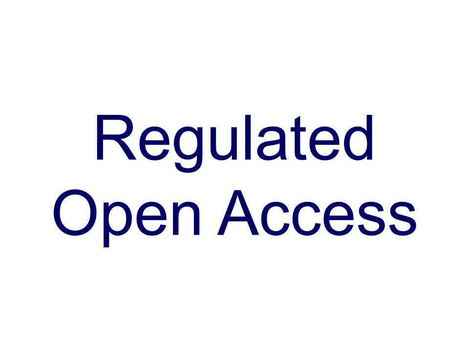 Regulated Open Access