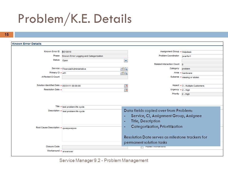 Problem/K.E.