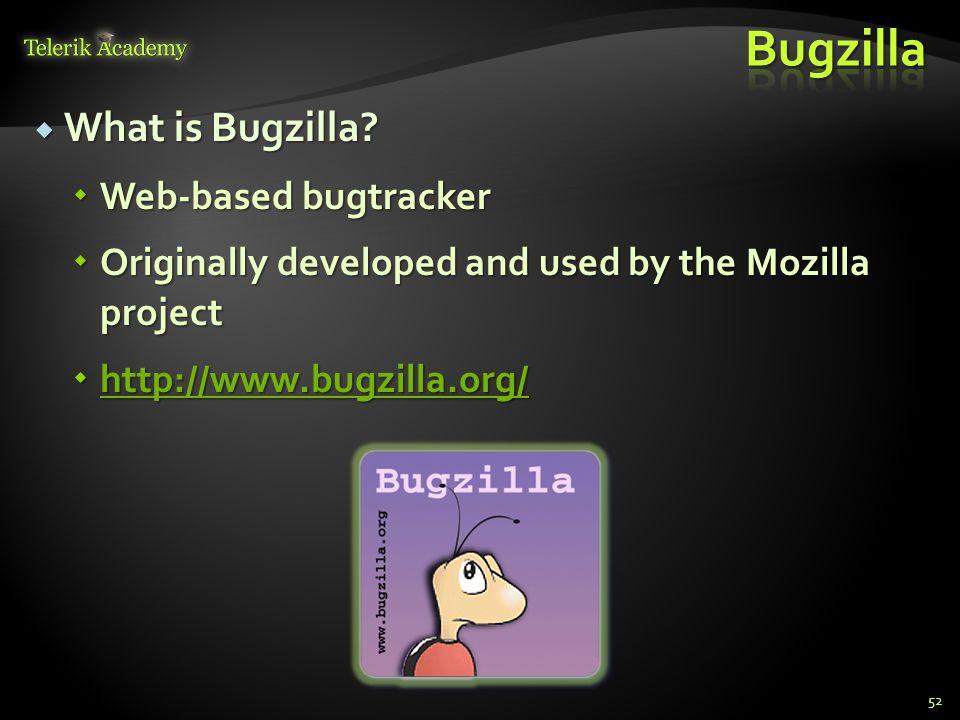 What is Bugzilla. What is Bugzilla.