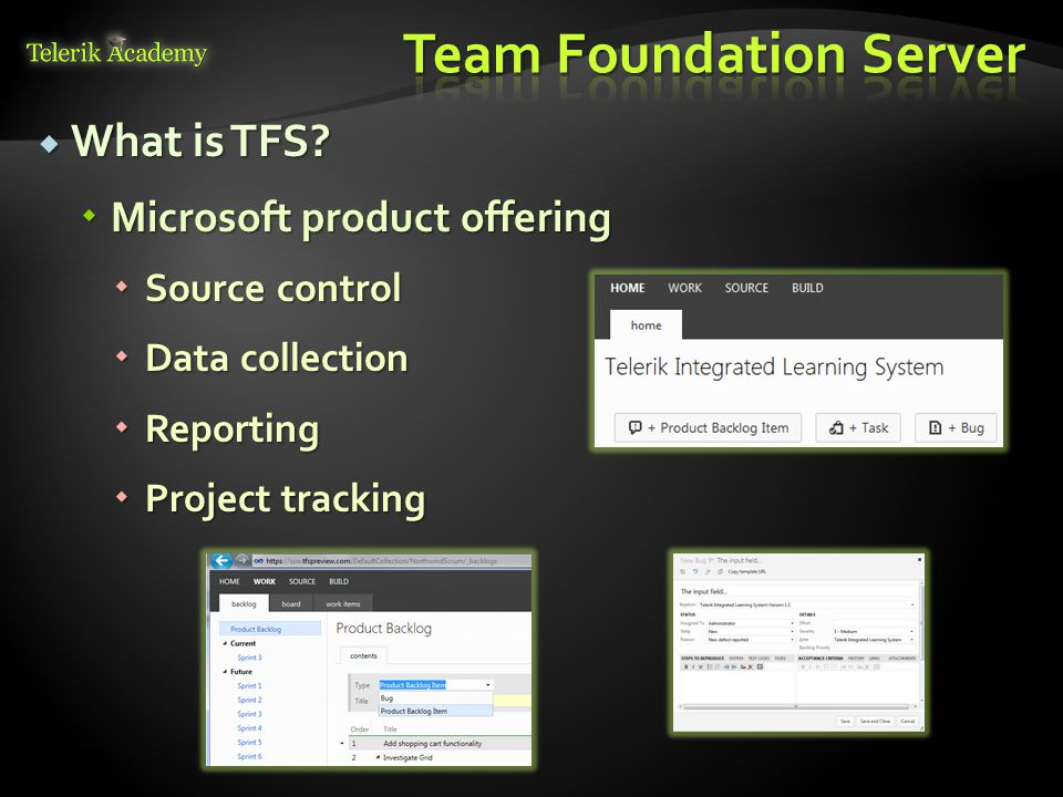 What is TFS. What is TFS.