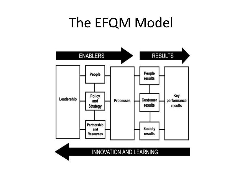The EFQM Model