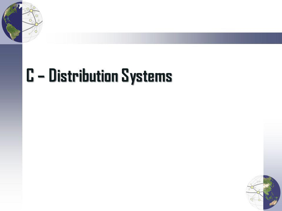 C – Distribution Systems