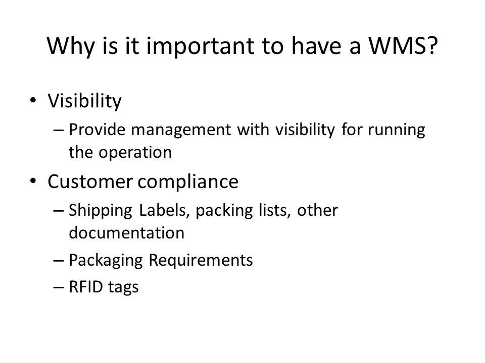 WMS Vendors Manhattan Associates Red Prairie SAP WMS