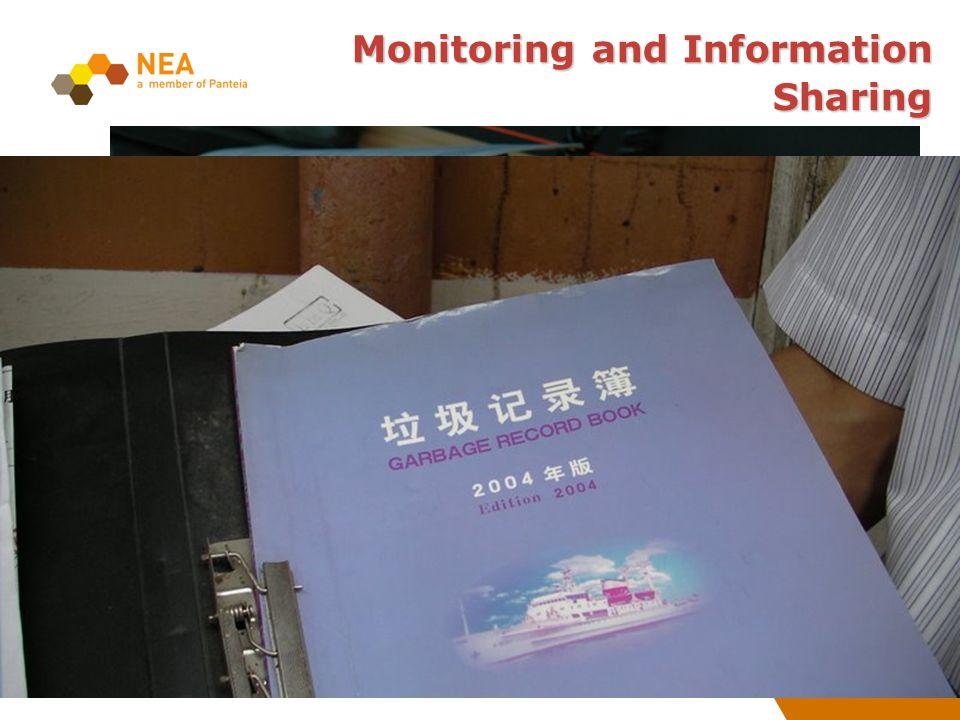 Registratienr: Monitoring and Information Sharing