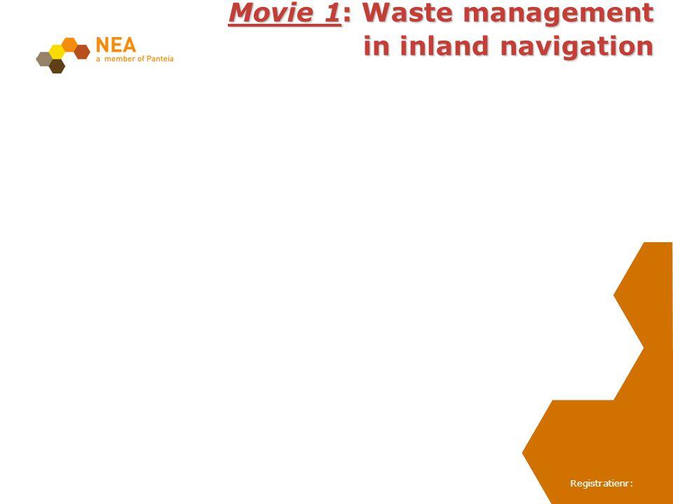 Registratienr: Movie 1: Waste management in inland navigation