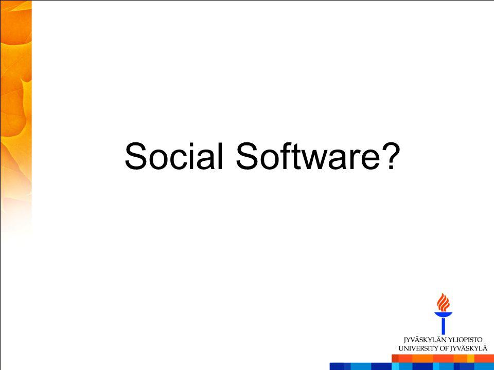 Social Software?