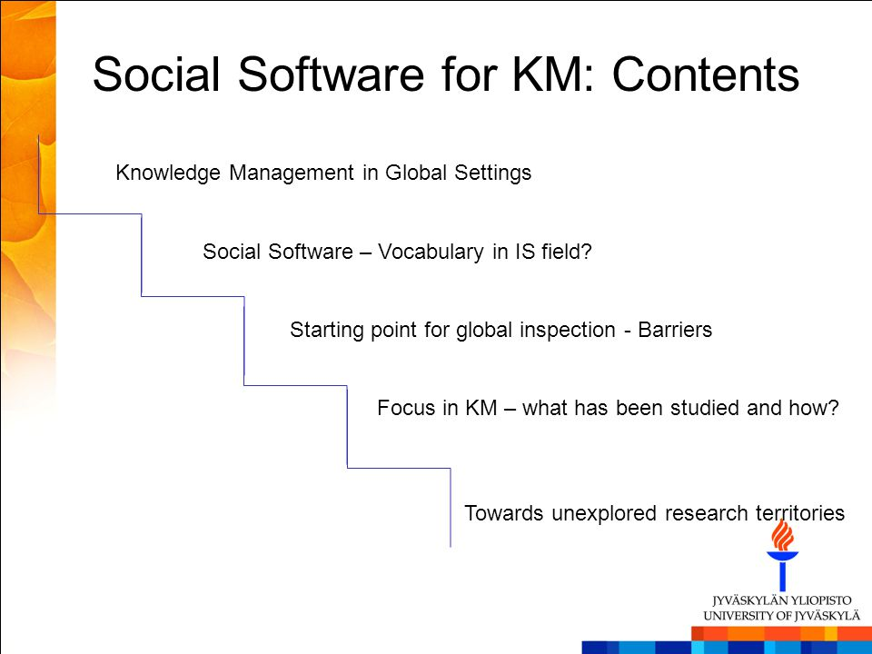 This means… Knowledge is a key to global success Global KM managers need to understand the value chain and knowledge requirements Global KM managers need to understand knowledge processes and culture Global KM managers are the main hubs for smooth operations in production and service enterprises Which kind of IS support is promising or proven successful?