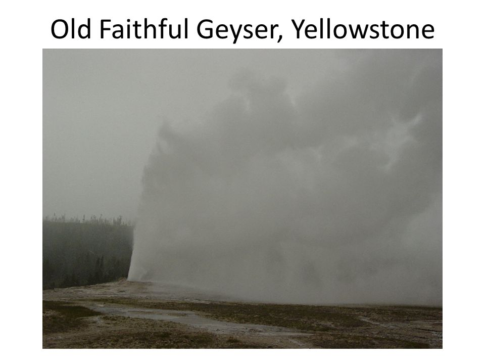 Old Faithful Geyser, Yellowstone