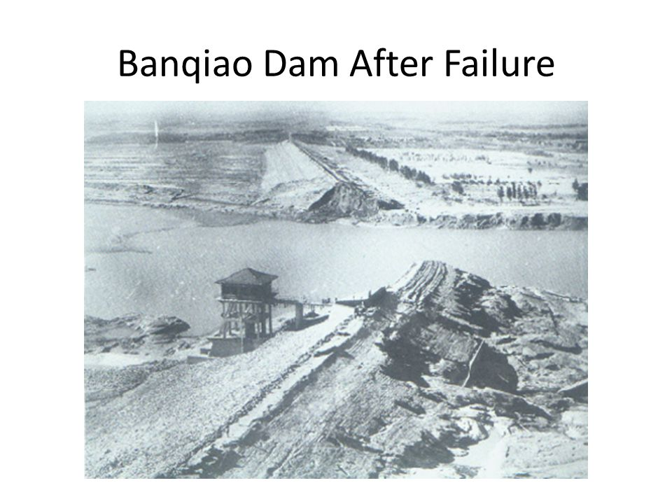 Banqiao Dam After Failure