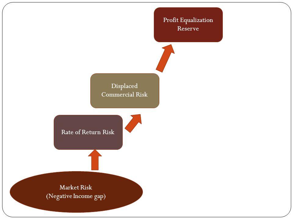 Rate of Return Risk Displaced Commercial Risk Profit Equalization Reserve Market Risk (Negative Income gap)