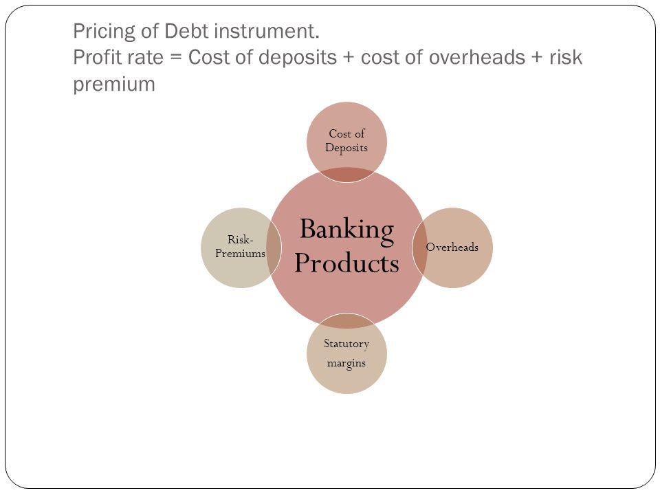 Pricing of Debt instrument.