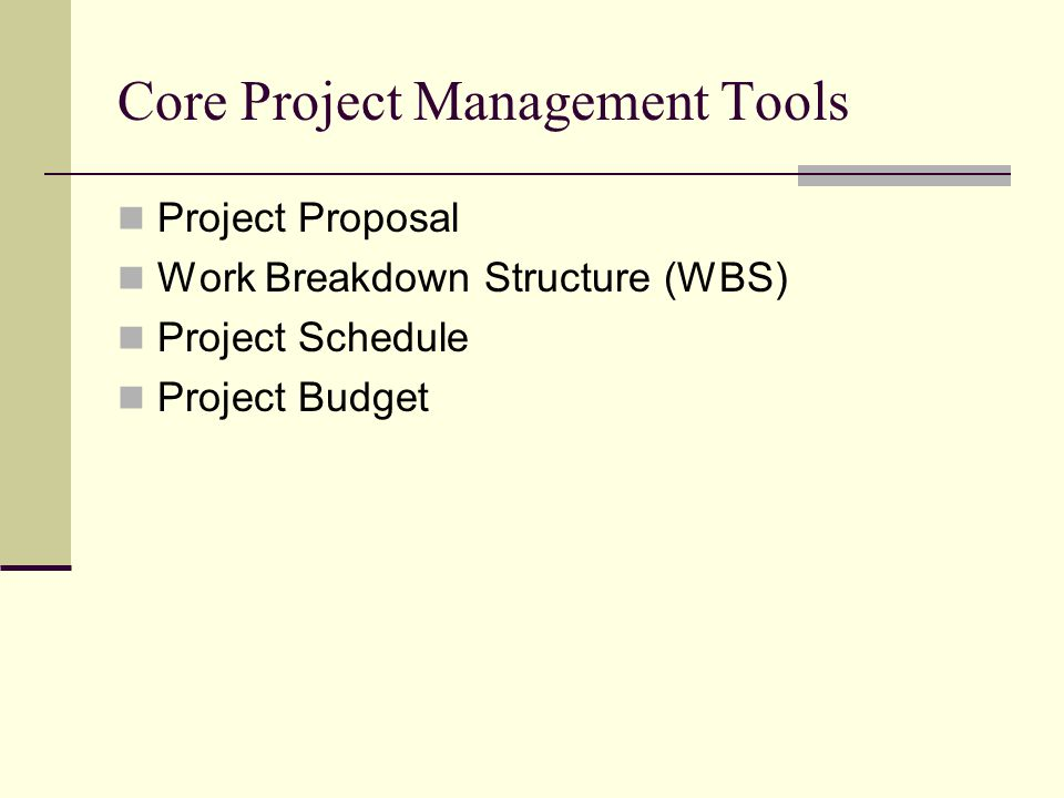 Project Proposal What must be done.What are the required resources.