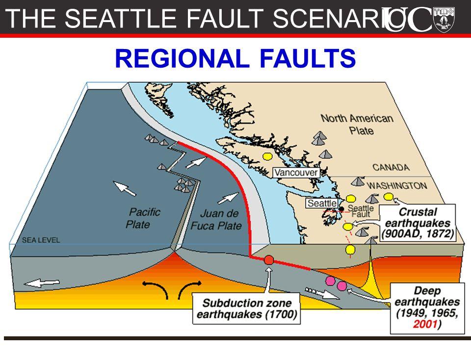 REGIONAL FAULTS THE SEATTLE FAULT SCENARIO