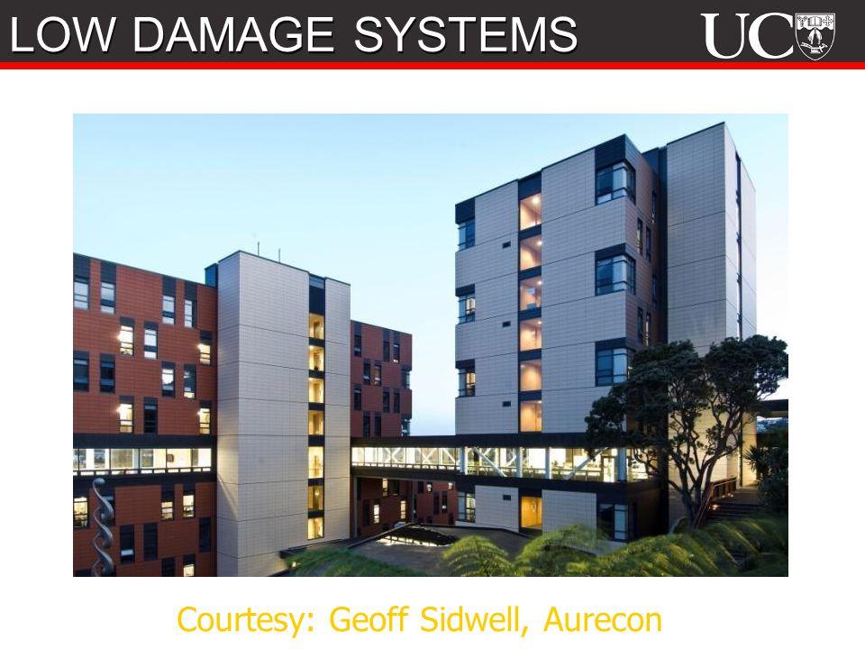 Courtesy: Geoff Sidwell, Aurecon LOW DAMAGE SYSTEMS