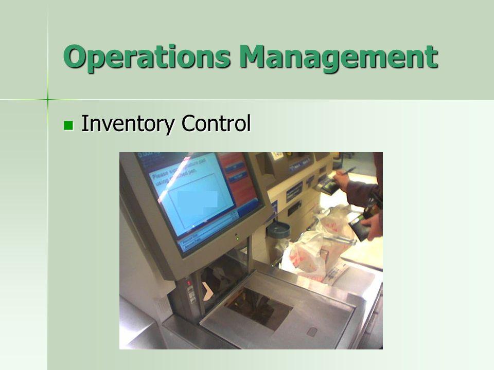 Operations Management Quality Management Quality Management