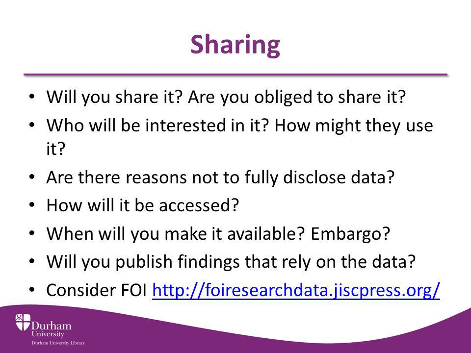 Sharing Will you share it.Are you obliged to share it.