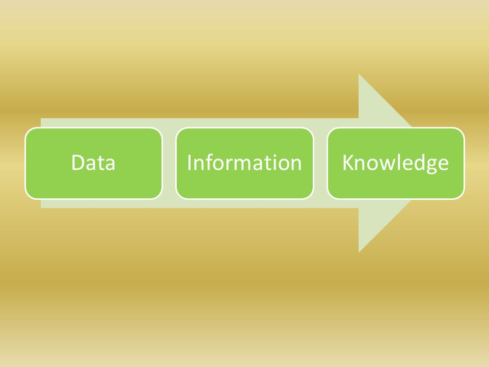 DataInformationKnowledge