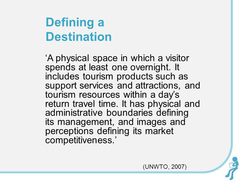 Attractions Activities Accessibility Amenities Accommodation Dickmans (1997) Five As of a Destination
