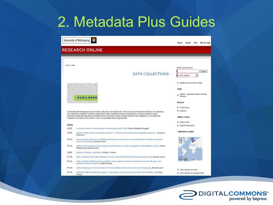 2. Metadata Plus Guides