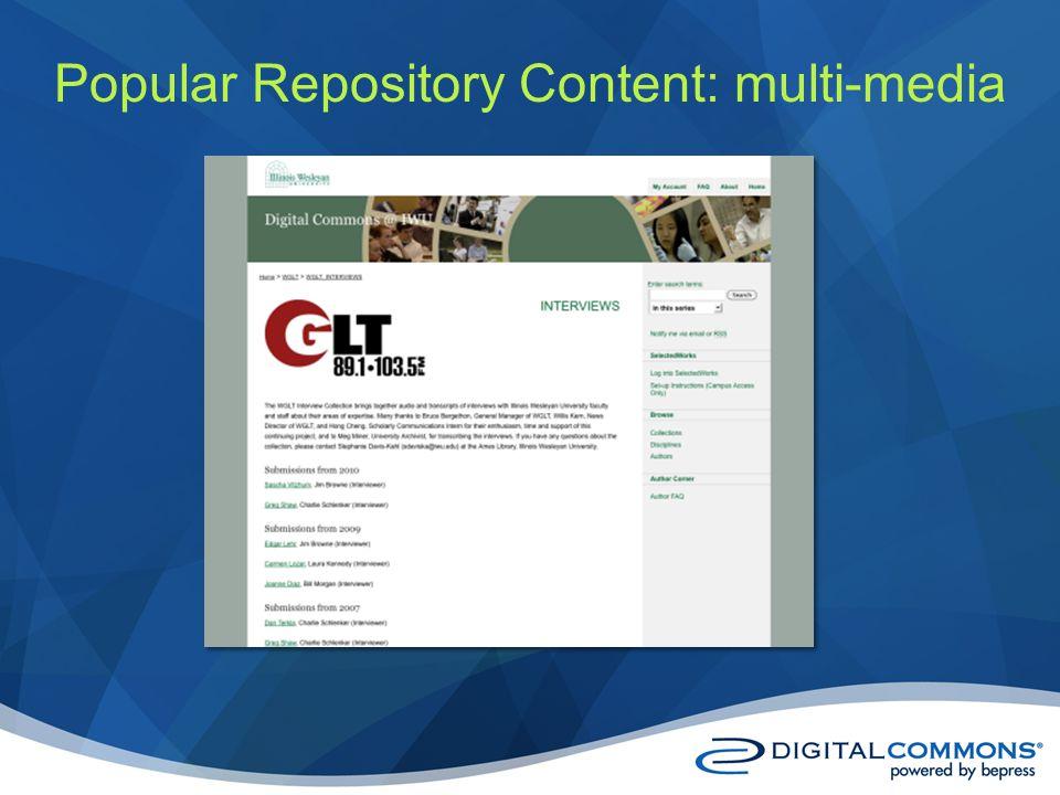 Popular Repository Content: multi-media