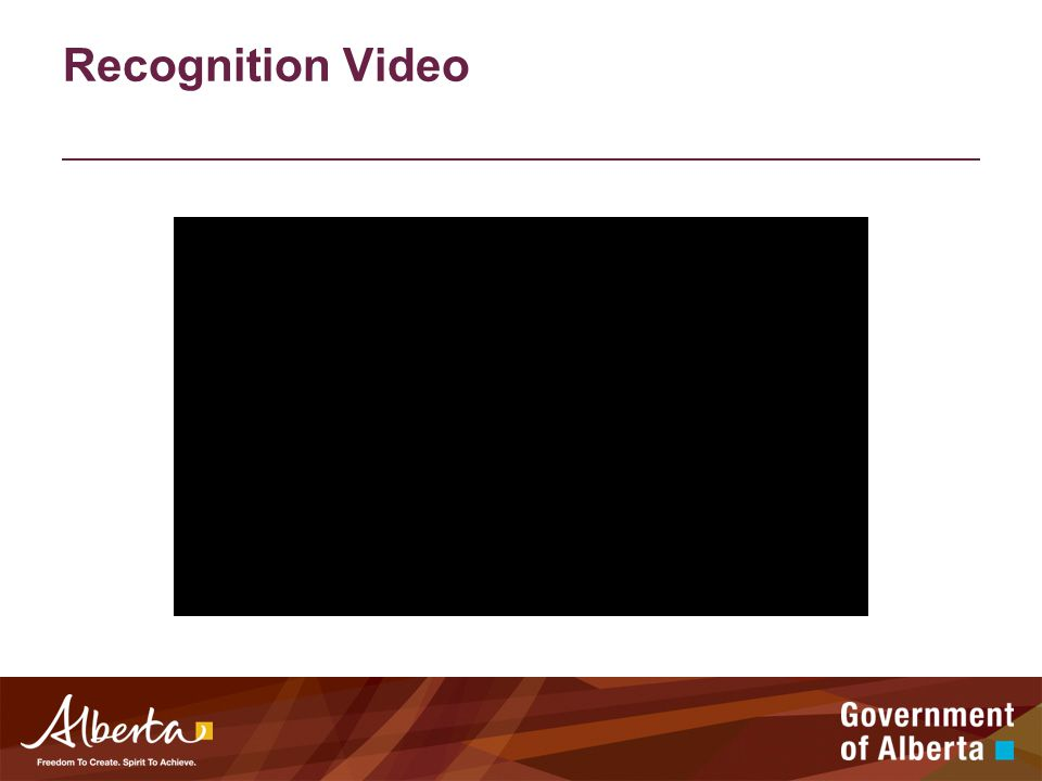 Recognition Video