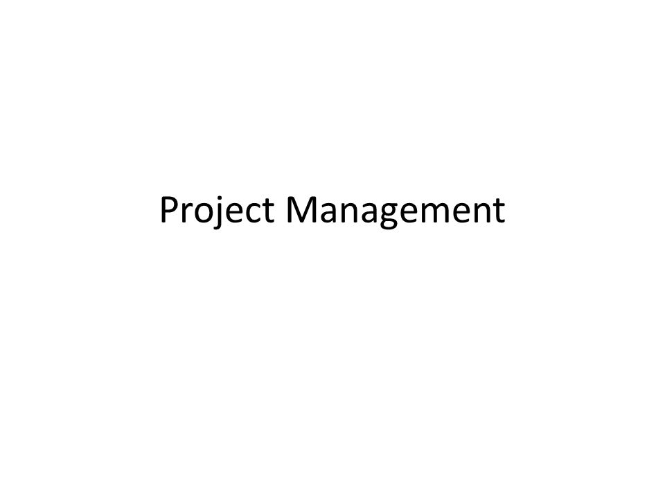Main Phases of Project Development