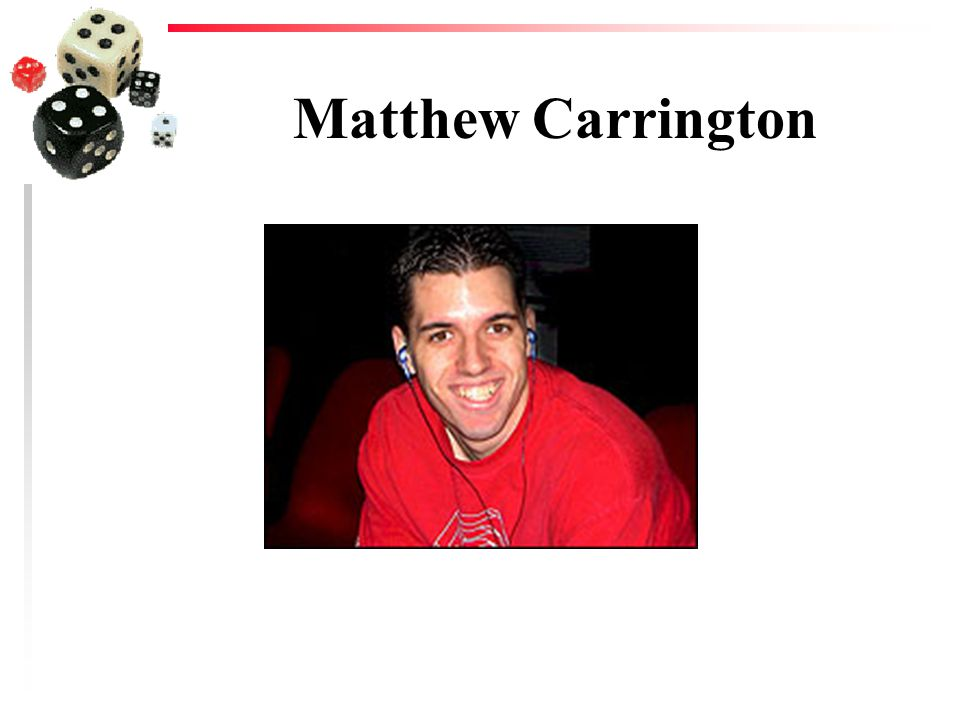 Matthew Carrington
