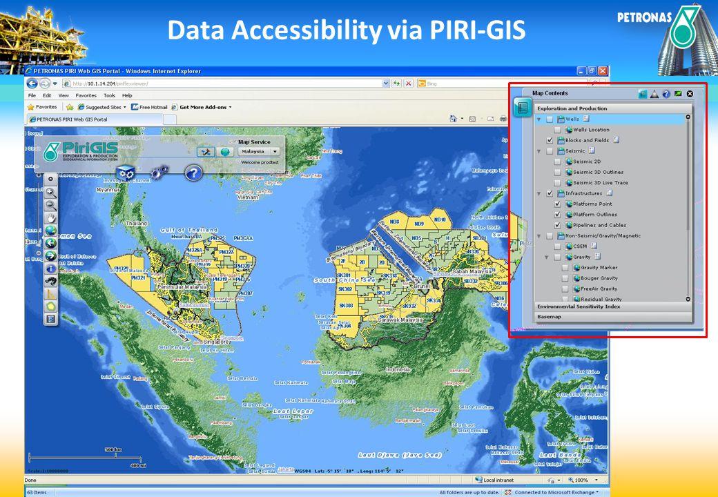 Data Accessibility via PIRI-GIS