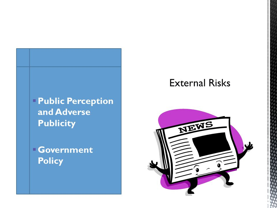 Public Perception and Adverse Publicity Government Policy