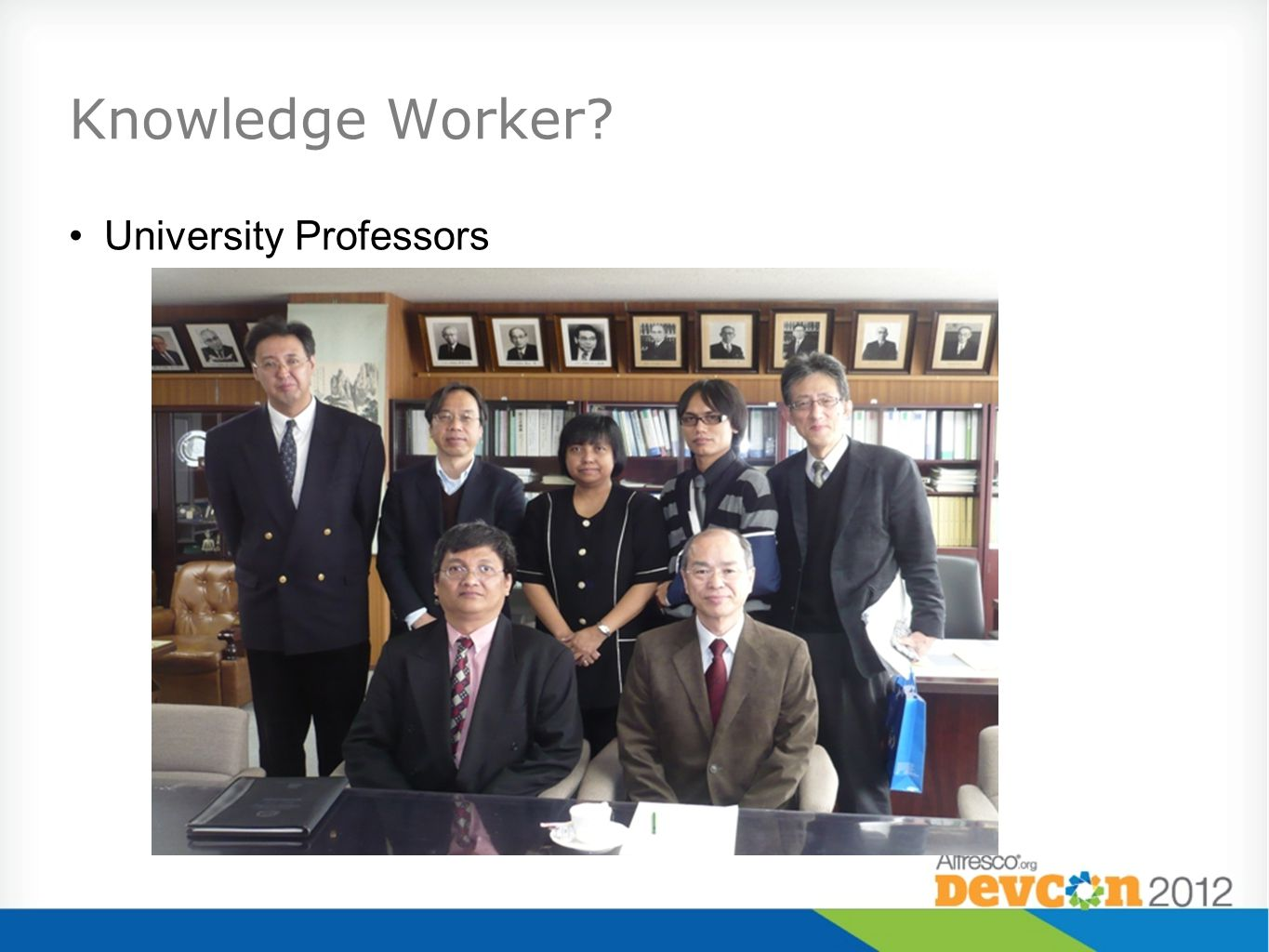 Knowledge Worker? University Professors