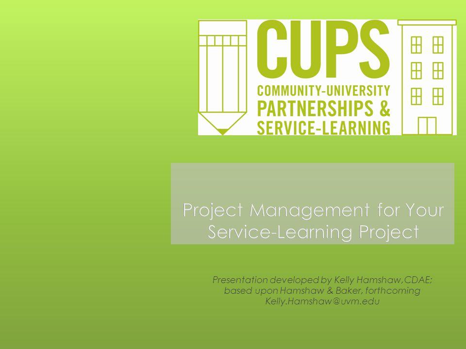 Presentation developed by Kelly Hamshaw,CDAE; based upon Hamshaw & Baker, forthcoming Kelly.Hamshaw@uvm.edu