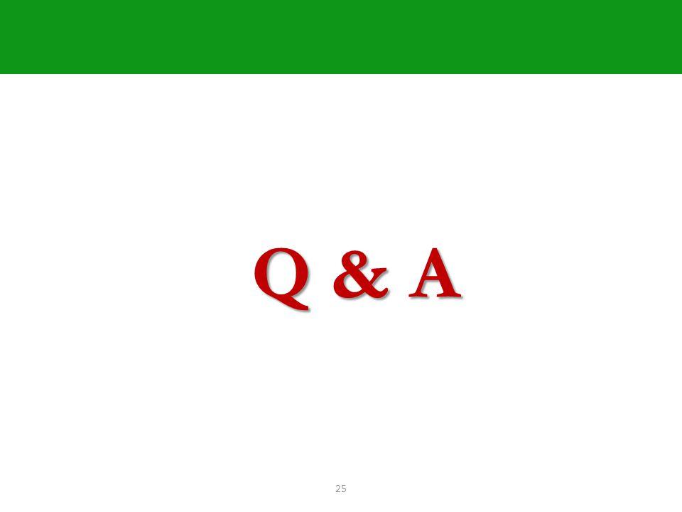 25 Q & A