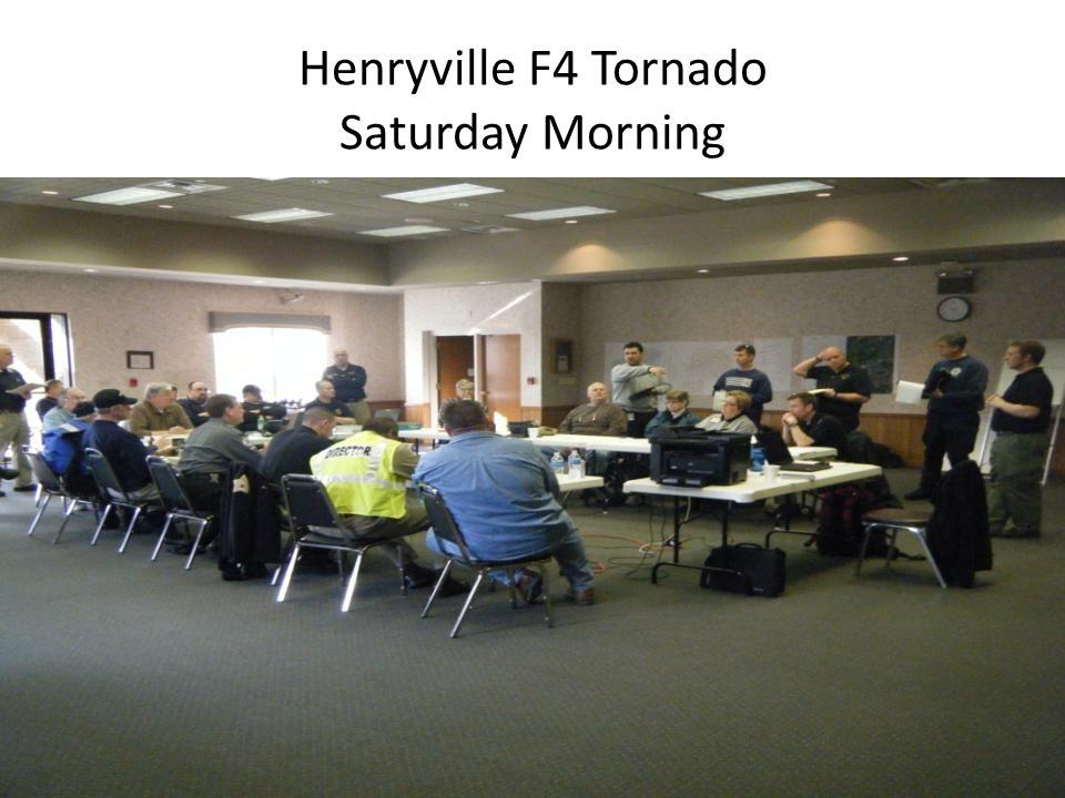 Henryville F4 Tornado Saturday Morning