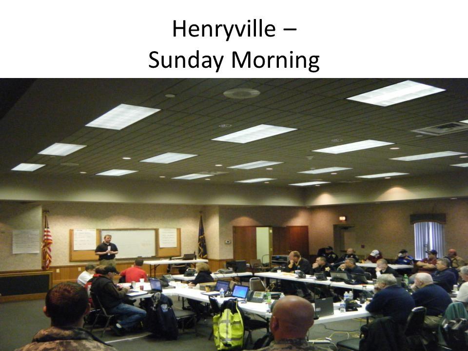 Henryville – Sunday Morning