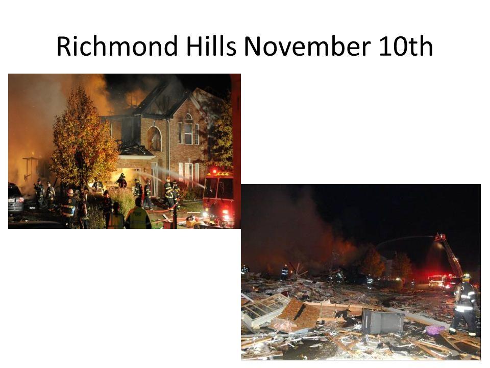 Richmond Hills November 10th