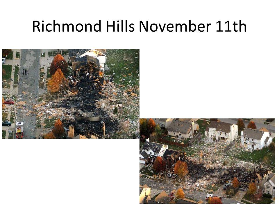 Richmond Hills November 11th