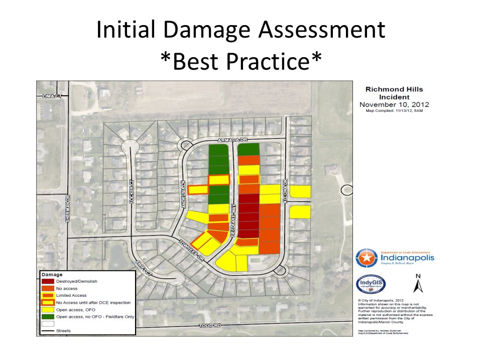 Initial Damage Assessment *Best Practice*