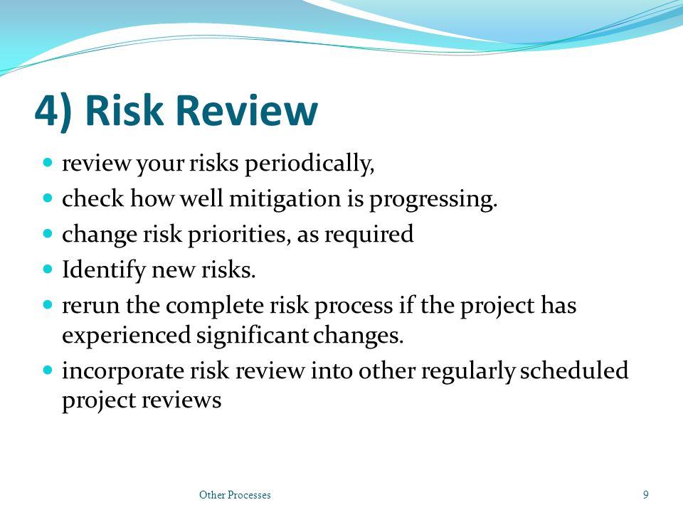 Risk Management Time Effective.