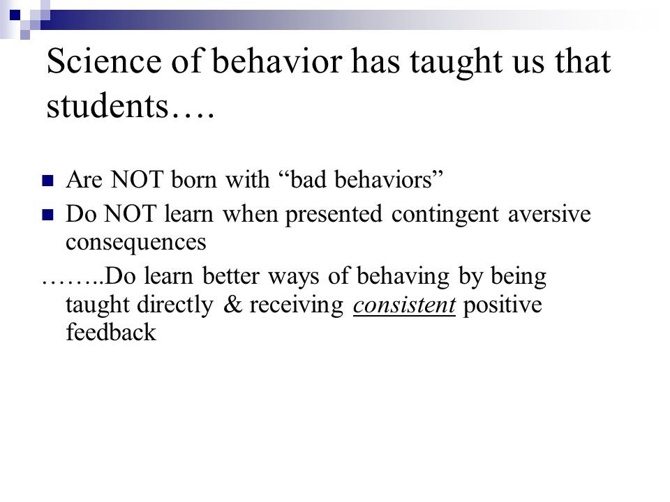 Common assumptions that lead to Escalation 1.I cant let a student get away with that.