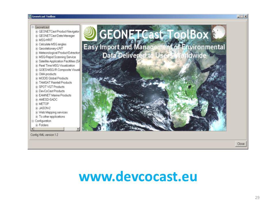 www.devcocast.eu 29